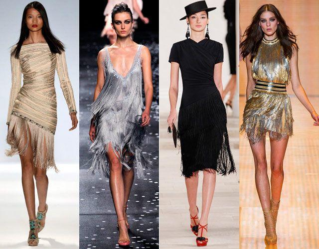 great gatsby fringe dress inspiration