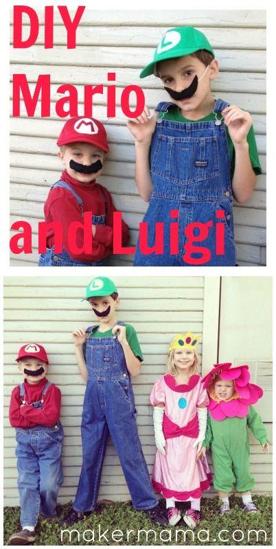 sew: Last-Minute Mario and Luigi Costumes    Maker Mama