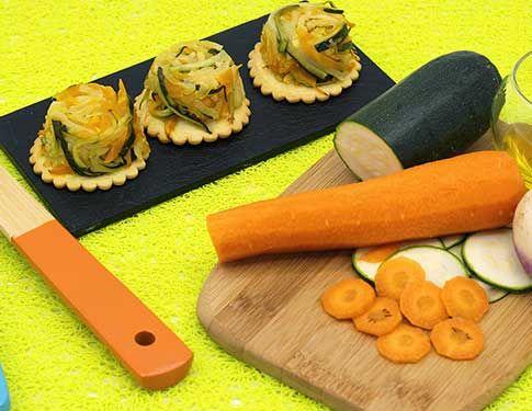 Recette Gourmande tatin de légumes multicolores Mon Assiette Locale livraison de courses à domicile en vélotriporteur à Bordeaux et Le Bouscat