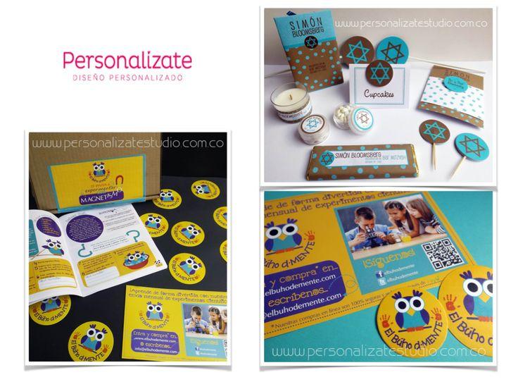 PERSONALIZATE. Tarjetas, invitaciones, calendarios, kits escolares, adhesivos, eventos. (571) 8843061 - (317)6354205  Bogotá & Chia. Colombia.