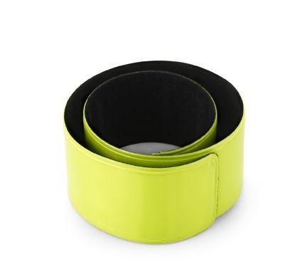 ТРЕЙТ Светоотражающий браслет на руку.           Максимальный размер печати: 55 x 15 мм.