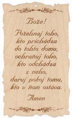 Citát na dreve (93): Bože! - F8733