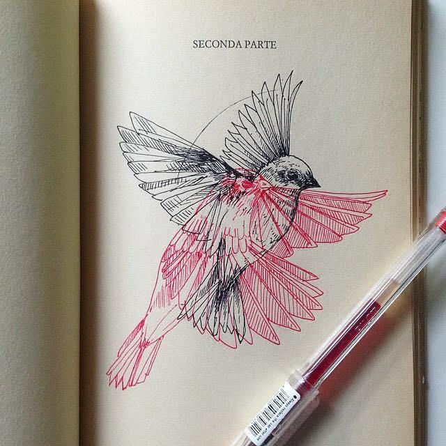 Nature & Ink - The Metamorphoses by Alfred Basha | The Dancing Rest https://thedancingrest.com/2016/08/01/nature-ink-the-metamorphoses-by-alfred-basha/