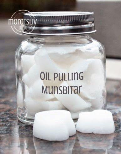 """Lucka 4Du har väl hört talas om oil pulling? Den tusenåriga ayurvediska metoden som ger bättre munhälsa och hjälper kroppens detox. Det innebär att man använder rena oljor för att """"dra ut&#82…"""