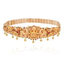 indian gold waist belt designs - Google Search