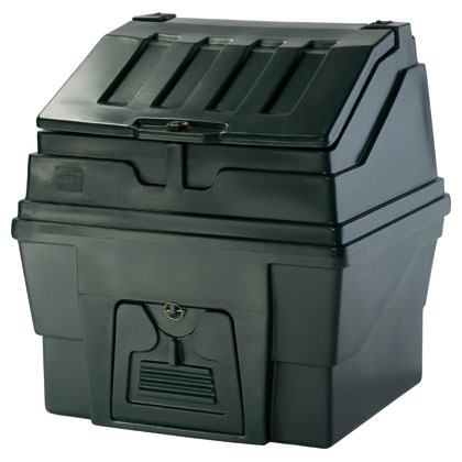 The Edale Plastic Coal Bunker, 300kg Capacity. A very popular sized coal bunker available from www.thefiresideshop.co.uk Visit www.thefiresideshop.co.uk/coal-bunkers/edale-plastic-coal-bunker.html for more information.