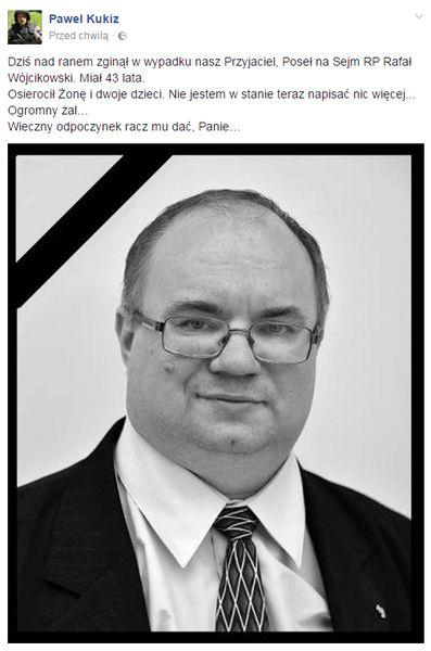 fot. Facebook/Paweł Kukiz