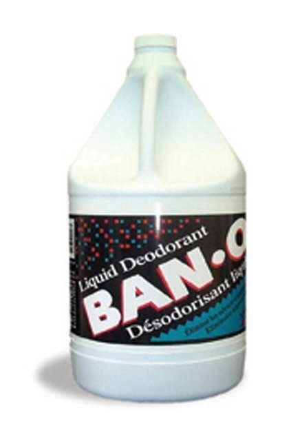 BAN-O: Liquid deodorant