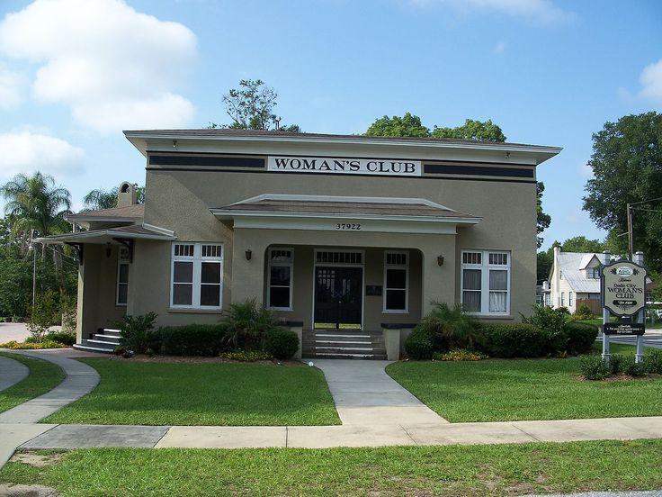 Dade City Womans Club In Pasco County Florida