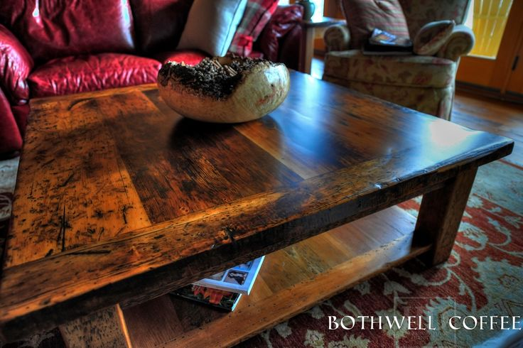 55 best images about reclaimed wood coffee table on for Coffee tables london ontario