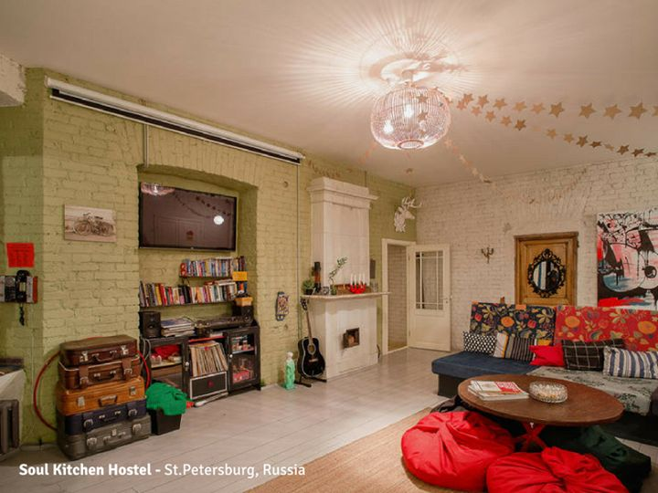 Soul Kitchen Hostel - St. Peterburg Russia -