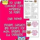 The objective of this download is to give you a method of assessing the achievement of each student using the Common Core Standards for Math, Reading, Writing and Language. :)