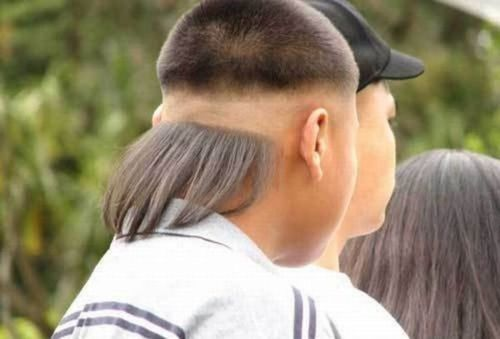 Epic mullet (fail) ~ what in the hell is THAT?!