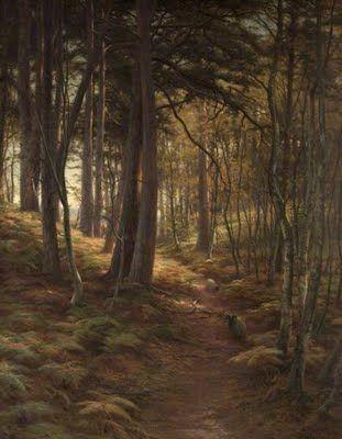 Joseph Farquharson - The Silent Evening Hour 1911