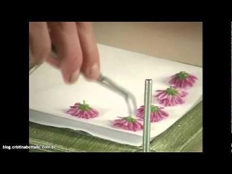 Seleção de Técnicas - Flores Prensadas (Parte 1)                                                                                                                                                                                 Más
