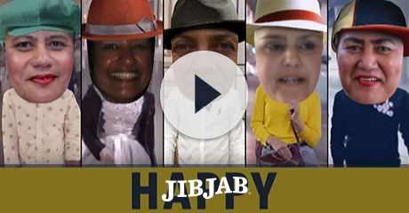 Casting five in Pharrell Williams' megahit song video is a sure-fire way to bring the HAPPY to any birthday!