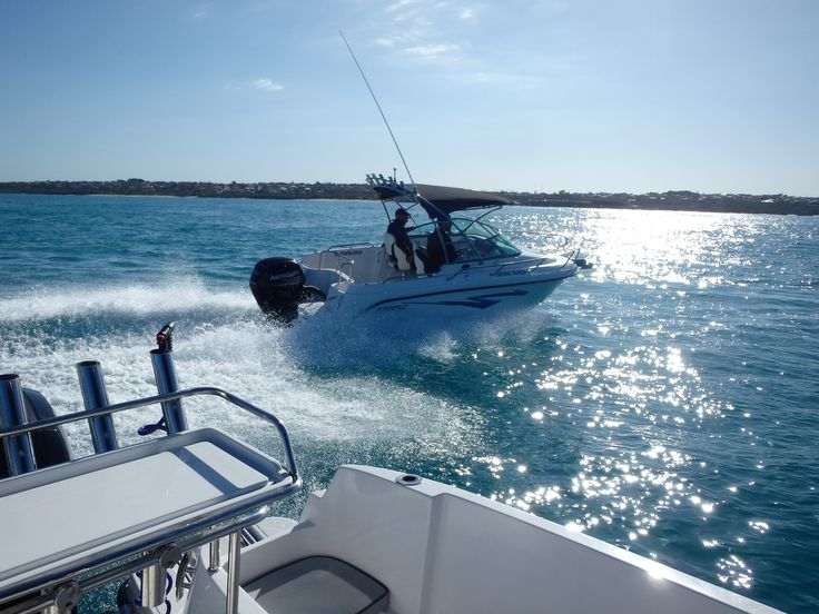 Atomix Boats seawater test Out of Ocean Reef