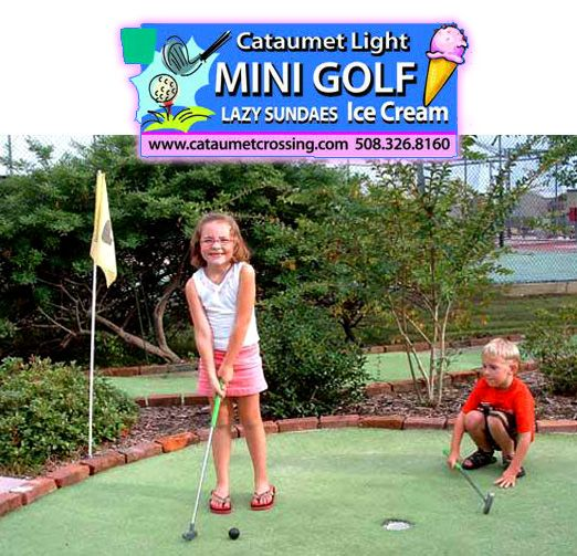 Cape Cod Daily Deal With Cataumet Light Mini Golf