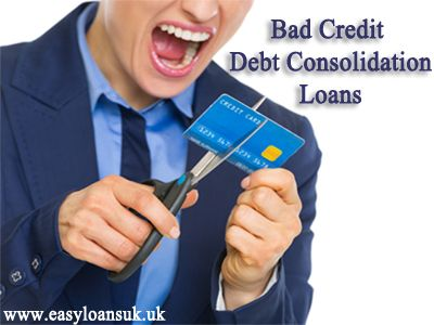 Consolidating finance bad credit