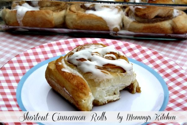 Mommy's Kitchen - Country Cooking & Family Friendly Recipes: Shortcut Cinnamon Rolls {Made With Truvia Baking Blend}