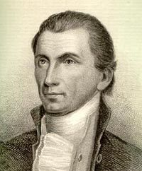 James Monroe  President of the United States  in 1816