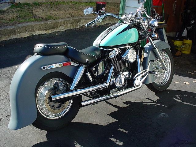 My 1996 Honda Shadow Ace Custom Motorcycle Honda Shadow