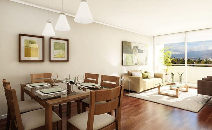 Ideas para el dise o de un living comedor living comedor for Ideas living comedor