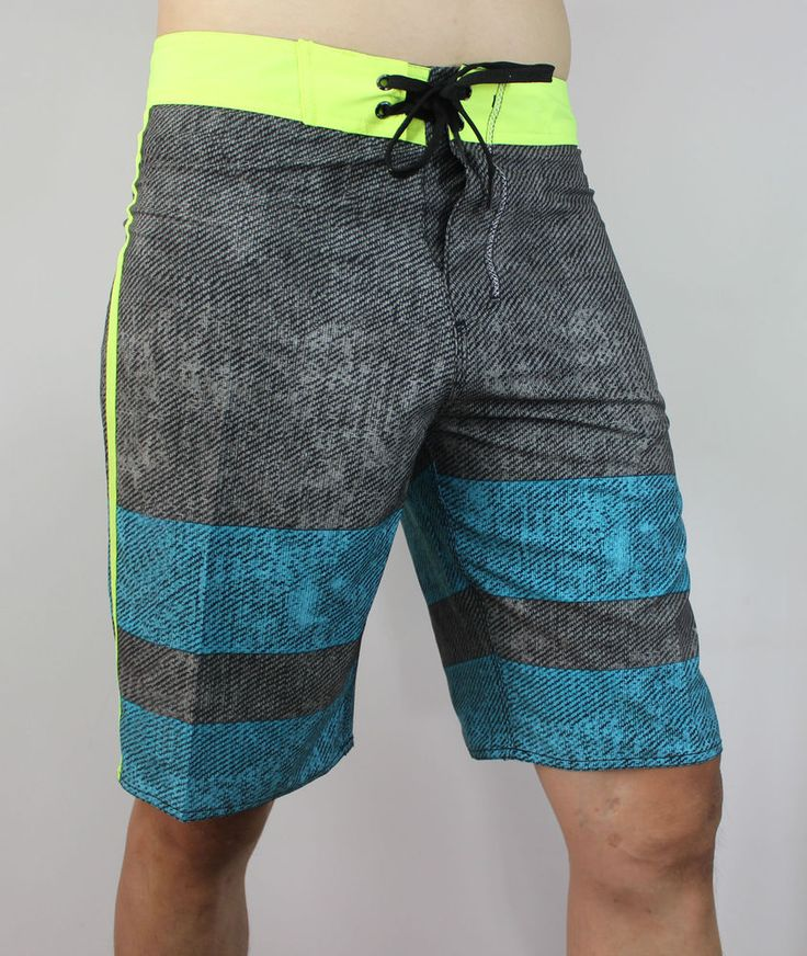 STRETCH Men's Boardshorts Surf Board Shorts Swimwear Beach Sports Trunks 30-38