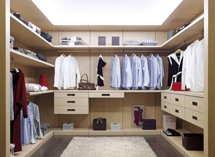 organizacin en el hogar vestidores
