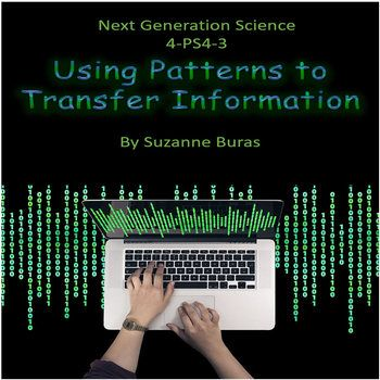 This product is a fun one! It aligns to Next Generation Science Standard 4-PS4-3 Waves and their Applications in Technologies for Information Transfer: Generate and compare multiple solutions that use patterns to transfer information. The product primarily takes a look a Binary Code and Morse Code and gives students opportunities to both decode and encode messages using the codes.