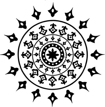 Индийский орнамент ML