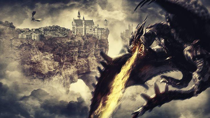 Dragon Age - fantasy art photoshop manipulation (speed art)