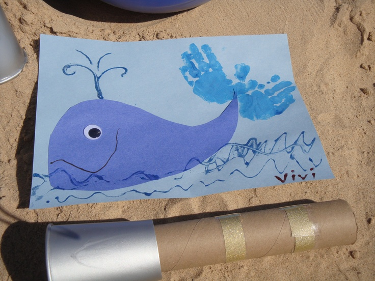Best 25 whale crafts ideas on pinterest kinds of whales for Whale crafts for kids