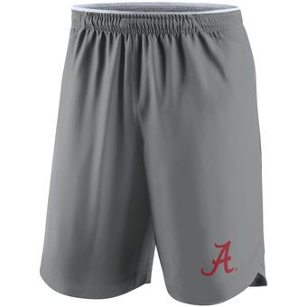 Nike Alabama Crimson Tide Charcoal Vapor Performance Shorts #rolltide #alabama #crimsontide