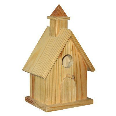 Wood Bird House Kits Should someone want to learn woodworking skills, try http://www.woodesigner.net #birdhousekits