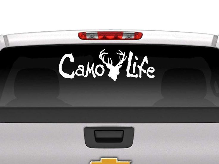 Best Stickers Images On Pinterest Truck Decals Vehicle - Custom vinyl decals for cardeer skull gun rifle hunting car truck window wall laptop vinyl