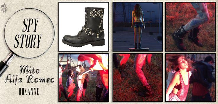 Gli #anfibi #Roxanne di #Ash #esaltano al #meglio l'#anima del #nuovo #spot della #Mito #AlfaRomeo. #Super #rock!