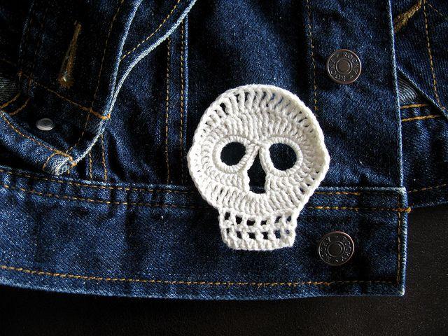 skullNails Nails, Knits Skull, Crochet Skull, How To Make Crochet Needle, Dead Crochet, Parties Decor Ideas, Day, Diy, Crafts