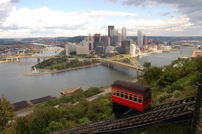 Pittsburgh Skyline Photo Mug Gourmet Tea Gift Basket