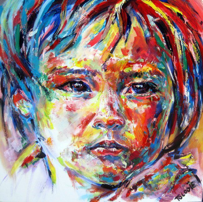 Fauvism, Stretched canvas and Oil paintings on Pinterest