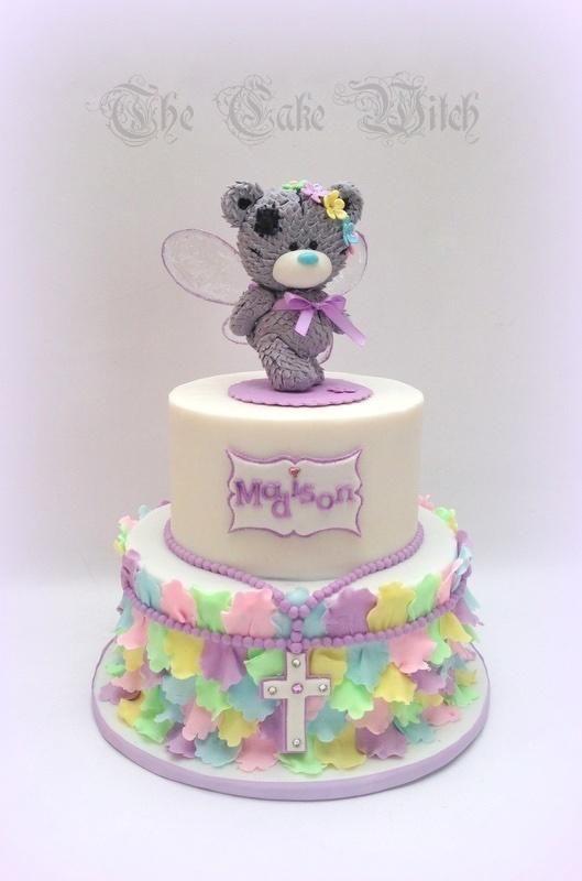 Fairy Teddy by Nessie - The Cake Witch