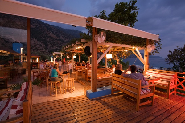 The Buzz Bar, Olu Deniz. We have dined here and it's excellent, great service too. Recommended ;-)