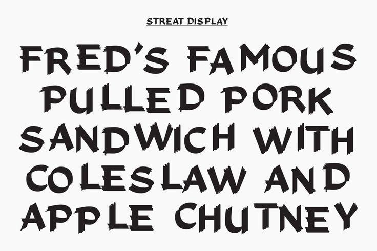 Custom typeface for Streat Helsinki designed by Kokomo & Moi