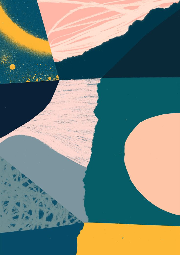 'Condensation' - Tom Abbiss Smith #abstract #art #illustration #collage #contemporary #surface #pattern #design