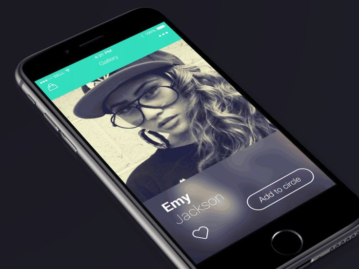 Photo gallery slider by Nikolay Apostol | #UI #UX