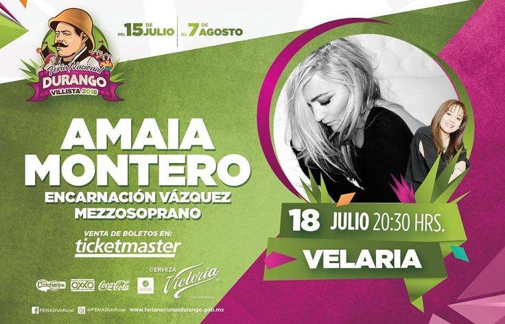 Concierto Amaia Montero - Durango Oficial