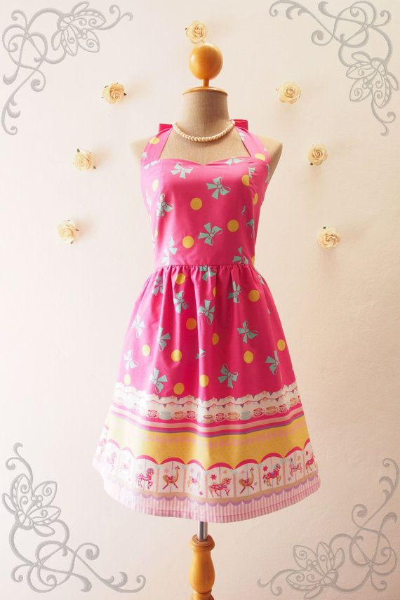 Carnival Dress My Carousel Dress Easter Dress Merry by Amordress