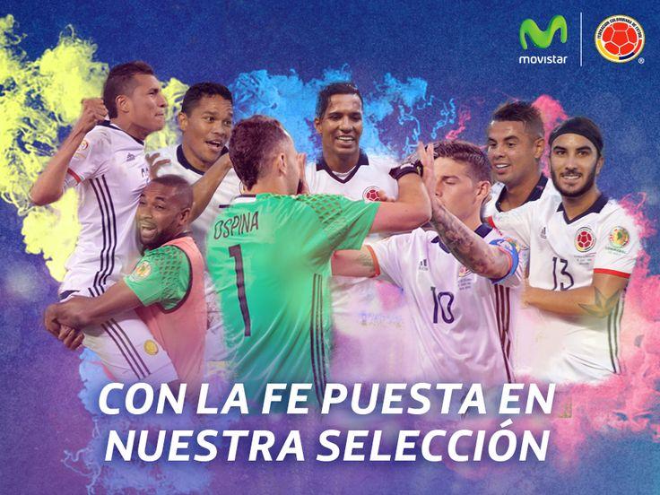 Desde todos los rincones de Colombia, alentaremos sin descanso a nuestra Selección Colombia ¡Vamos con toda!