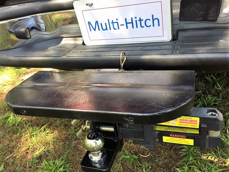 Coming Soon!  Reel-Quik Hitch Cover/Step/Cargo Platform!