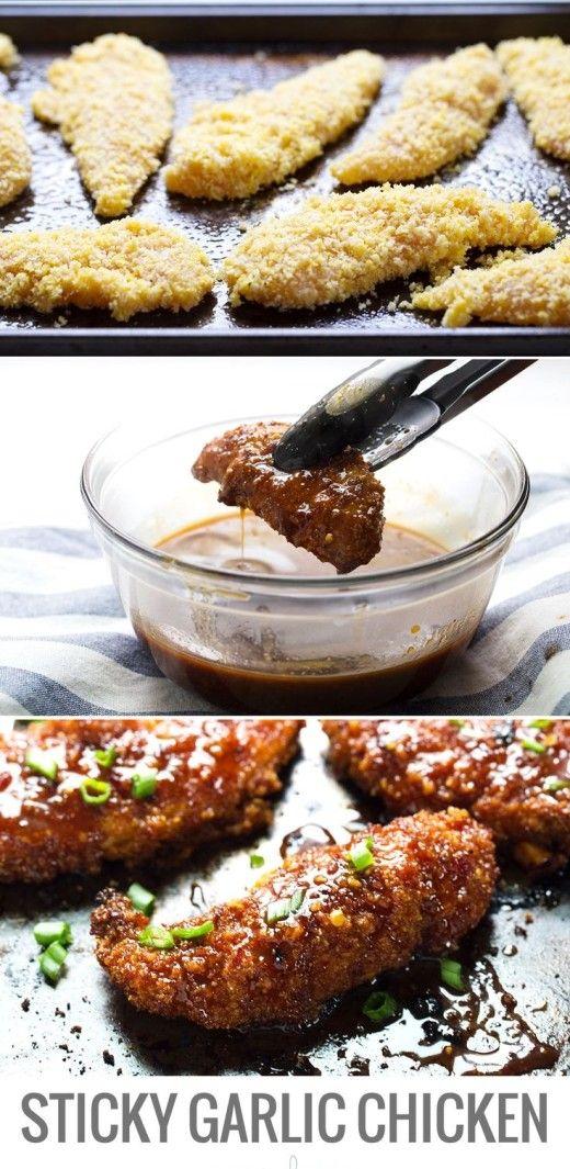 Garlic Chicken #CentralAsia#Cusine